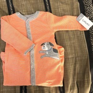 Carter's snap-up pajamas